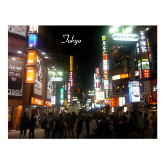 shibuya lights postcard