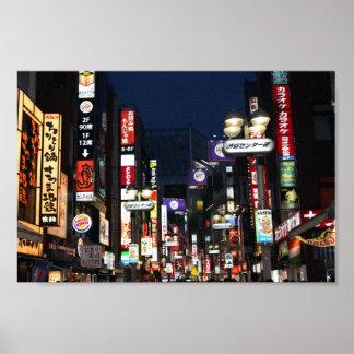 Shibuya Lights Poster