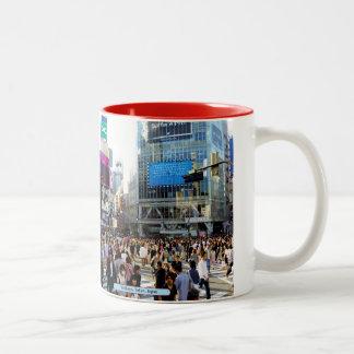 Shibuya, Tokyo, Japan Two-Tone Coffee Mug