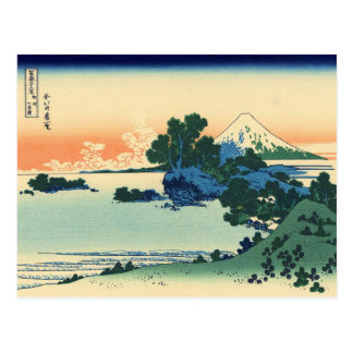 Shichiri beach in Sagami Province (by Hokusai) Postcard