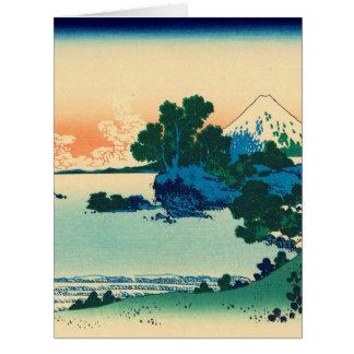 Shichiri beach in Sagami Province Card