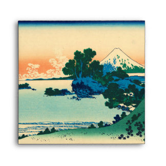 Shichiri beach in Sagami Province Envelope