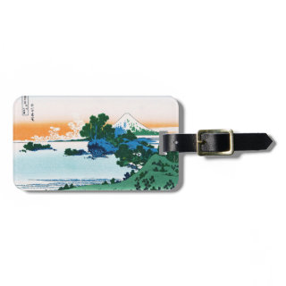 Shichiri beach in Sagami province Hokusai Luggage Tags