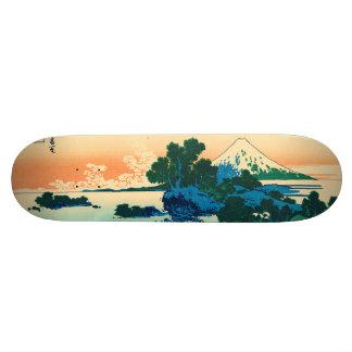 Shichiri beach in Sagami Province Skateboard Deck