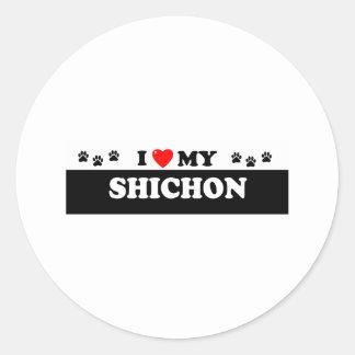 SHICHON CLASSIC ROUND STICKER
