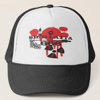 Shid Latta 666 LOGO snapback Trucker Hat