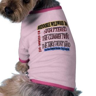 Shidoobee wildwood pet Garment Dog Tshirt
