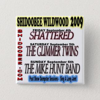 Shidoobee wildwood square button