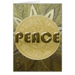 Shield 3A Peace Greeting Card