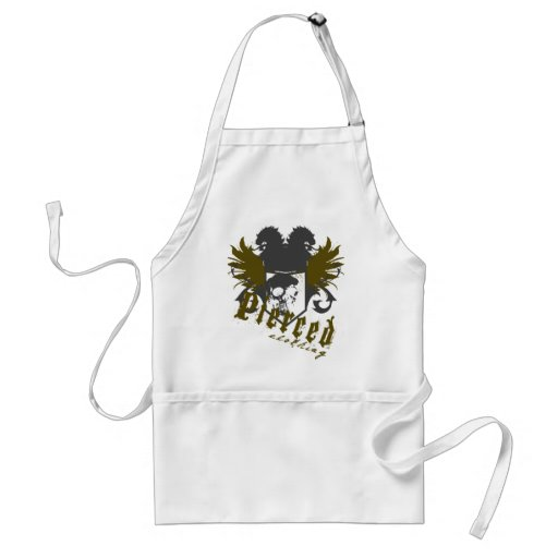 Shield and Angels Aprons