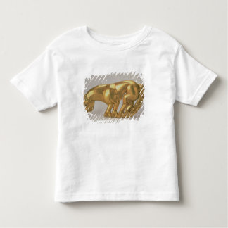 Shield emblem in the form of a panther toddler t-shirt