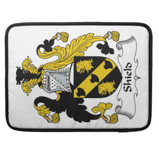 Shield Family Crest Sleeve For MacBooks