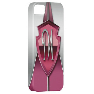 Shield Monogram Initial M iPhone 5 Case