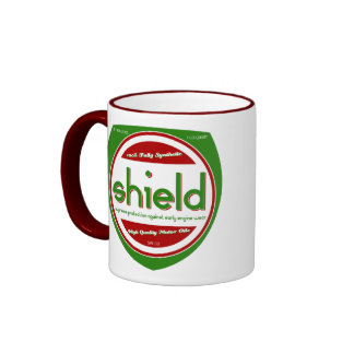 'Shield' Motor Oil Mug Logo