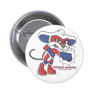 SHIELD MOUSE Patriotic Punch!  Button