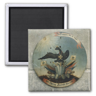 Shield of a Prussian officer, 1764 2 Inch Square Magnet