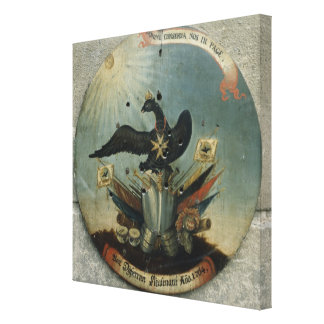 Shield of a Prussian officer, 1764 Canvas Print