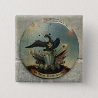 Shield of a Prussian officer, 1764 Pinback Button