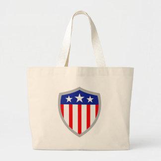 Shield of American Flag Bag