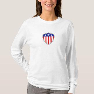 Shield of American Flag T-Shirt