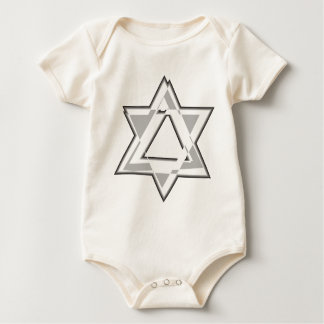 Shield of David Baby Bodysuit