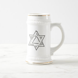 Shield of David Beer Stein
