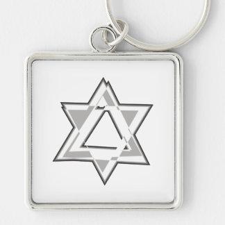 Shield of David Key Chain