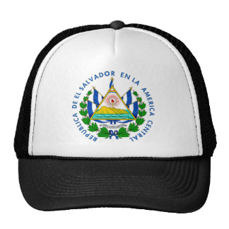 Shield of El Salvadore Trucker Hat