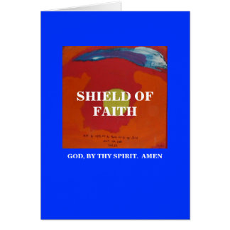 SHIELD OF FAITH - 1118 CARD
