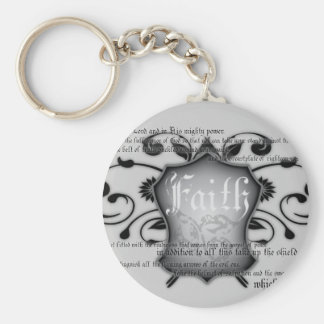 Shield of Faith (armor of God) Christian keychain