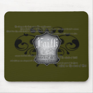 Shield of Faith (armor of God) mousemat Mouse Pad
