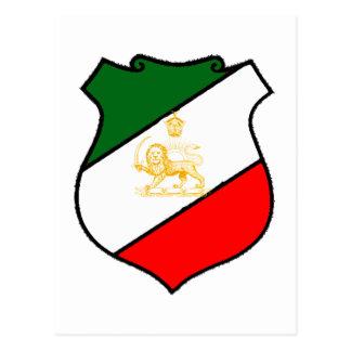 Shield of Iran Postcard