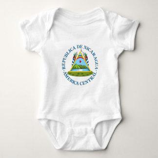 Shield of Nicaragua Baby Bodysuit