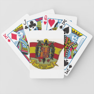Shield of Spain Bicycle Playing Cards