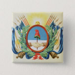 Shield of the Confederation of Argentina Button