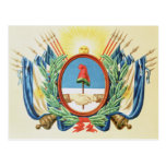 Shield of the Confederation of Argentina Postcard