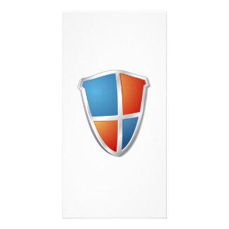 Shield Photo Card