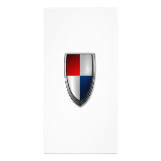 Shield Custom Photo Card