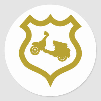 shield.png classic round sticker