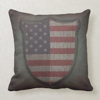 Shield Usa flag. Almohadas