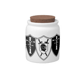 Shield Wall RDR Candy Jar