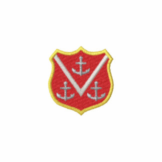 Shield with Anchors Polo