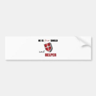 shieldhelper.ai bumper sticker