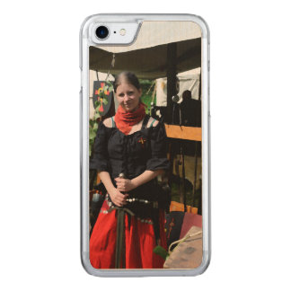 Shieldmaiden Carved iPhone 7 Case