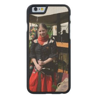 Shieldmaiden Funda De iPhone 6 Carved® Slim De Arce