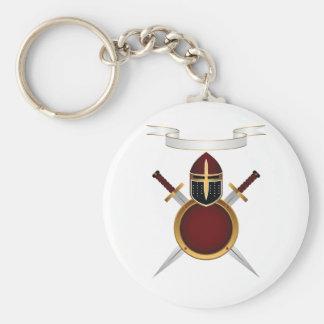 Shields and Swords Keychain