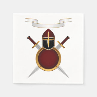 Shields and Swords Paper Napkins