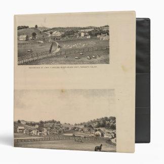 Shields, Clemmer residences Binder