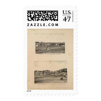 Shields, Clemmer residences Stamp