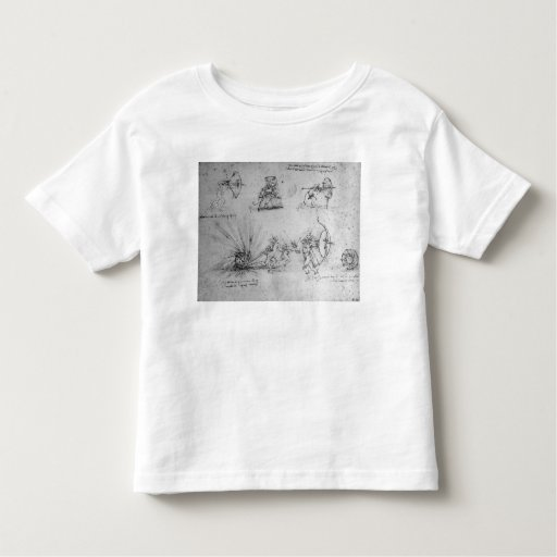 Shields for Foot Soldiers and an Exploding Toddler T-shirt